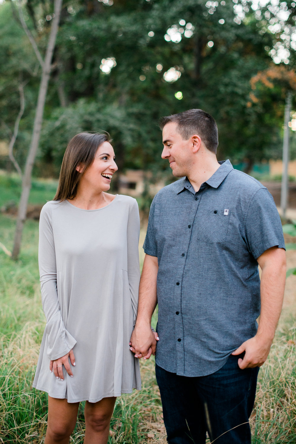 Engagement at One Mile in Bidwell Park & Chico State | Hannah & Casey | Chico, CA