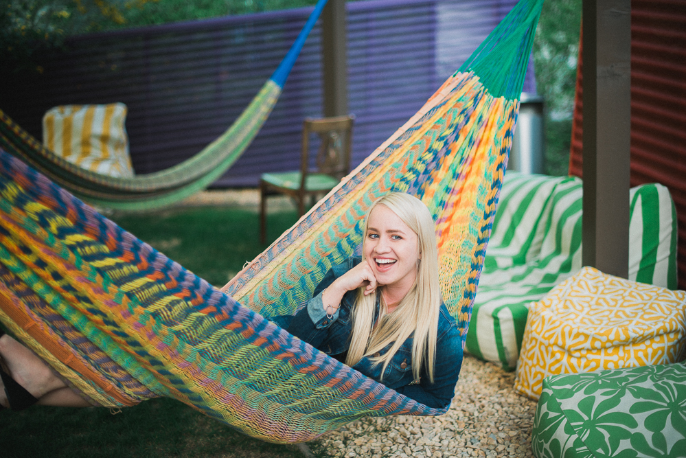 Hammock at the Saguro Palm Springs. © Heather Selzer