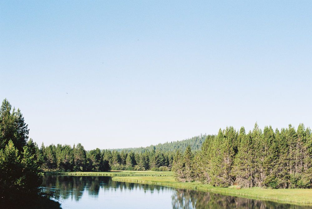 Deschutes River in Sunriver, Oregon - Portra 400 on Nikon N90s