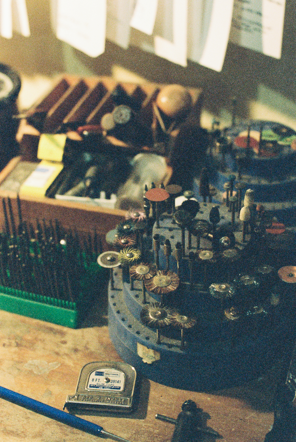 Broken Pine Workspace - Portra 400 on Nikon N90s