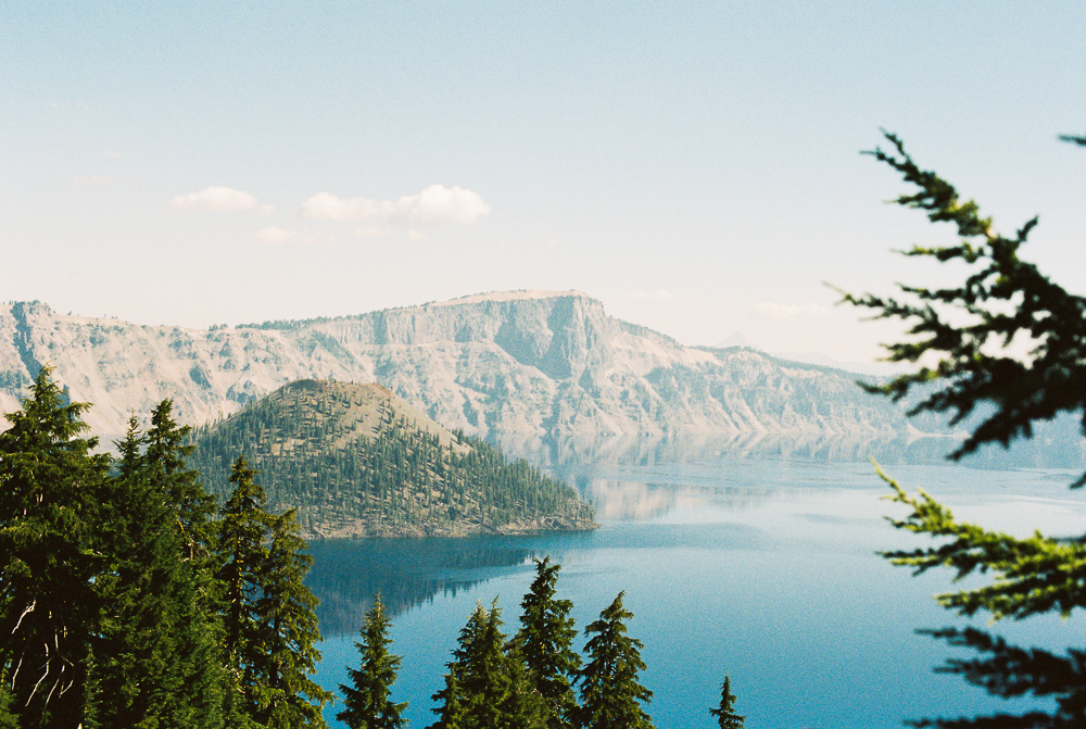 Crater Lake - Portra 400 on Nikon N90s
