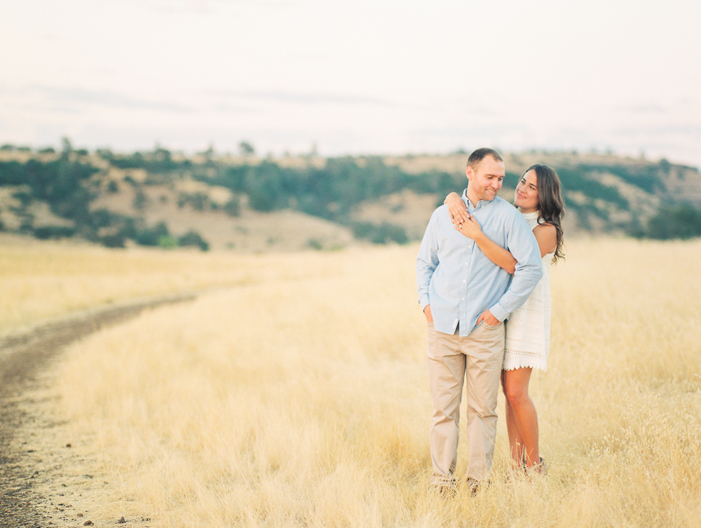 Engagement at Chico State & Upper Bidwell Park | Joy & Jack | Chico Engagement Photographer - Heather Selzer
