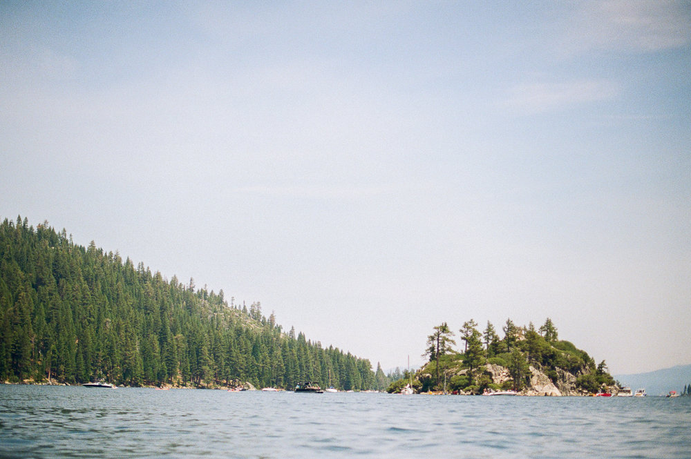 View of Fennet Island from Emerald Bay