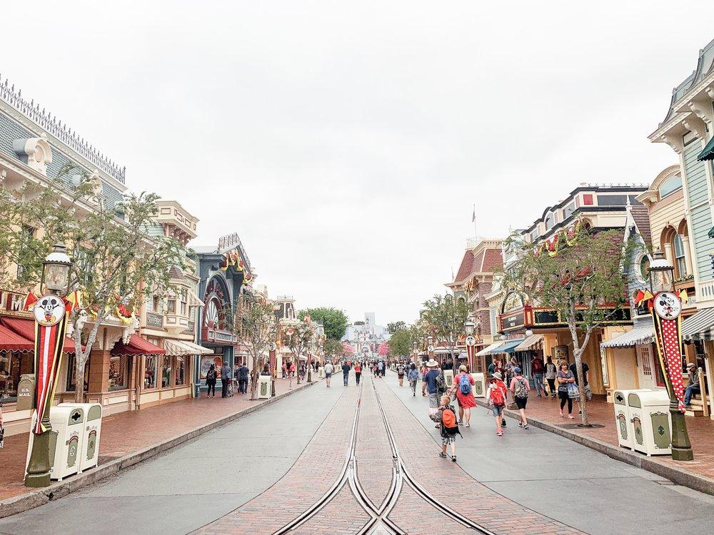 Main Street in Disneyland