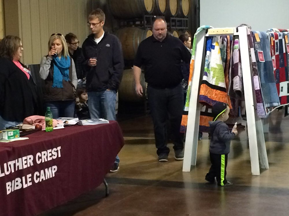 Quilt & Craft Market - all proceeds go to Luther Crest Bible Camp