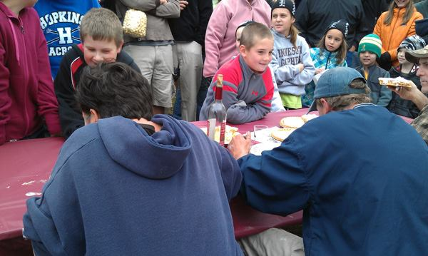 Apple Pie Eating Contest for All Ages!