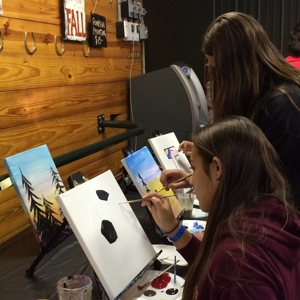 Create a masterpiece with Art Bar 39 for adults and kids!