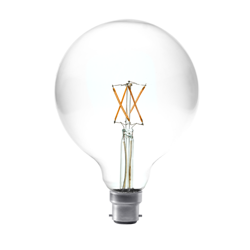 4W large round filament bulb