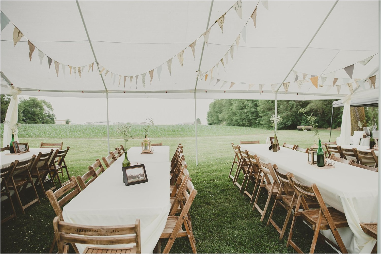 PERSONAL    Our Boho Backyard Wedding Reception    Rensselaer ...
