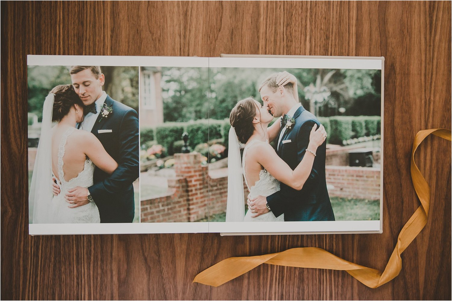 heirloom products alyssa taylors custom wedding album richmond virginia photographer pattengale photography