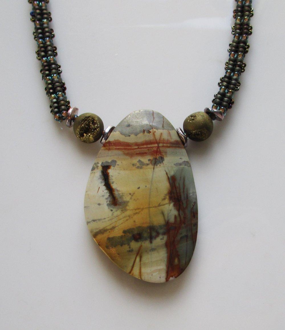"Kolby Fehlberg-Burns ""Sonoran Desert Necklace"""