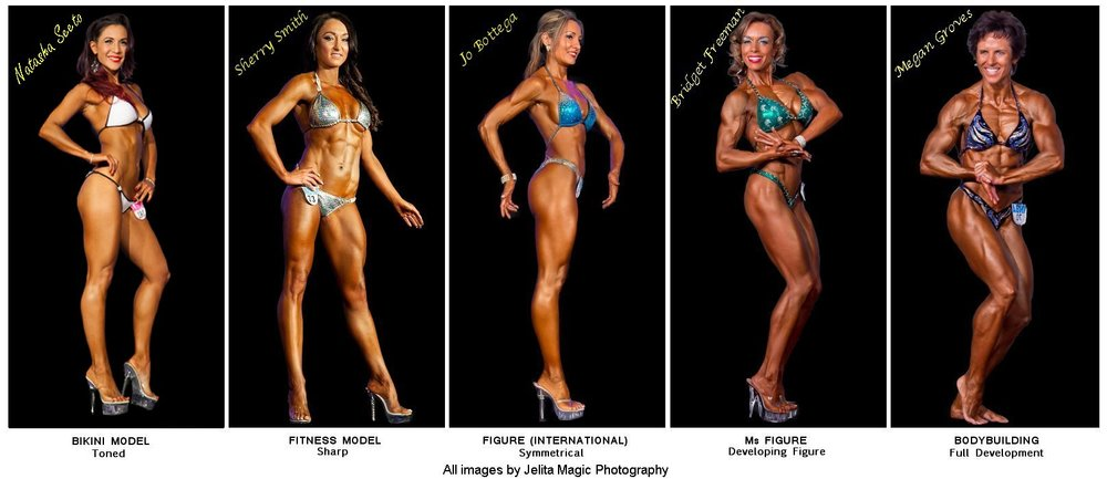 I eventually want to enter Ms Figure, second from the right. When i'm in the gym I think I look like that, but actually I am a shrimp.