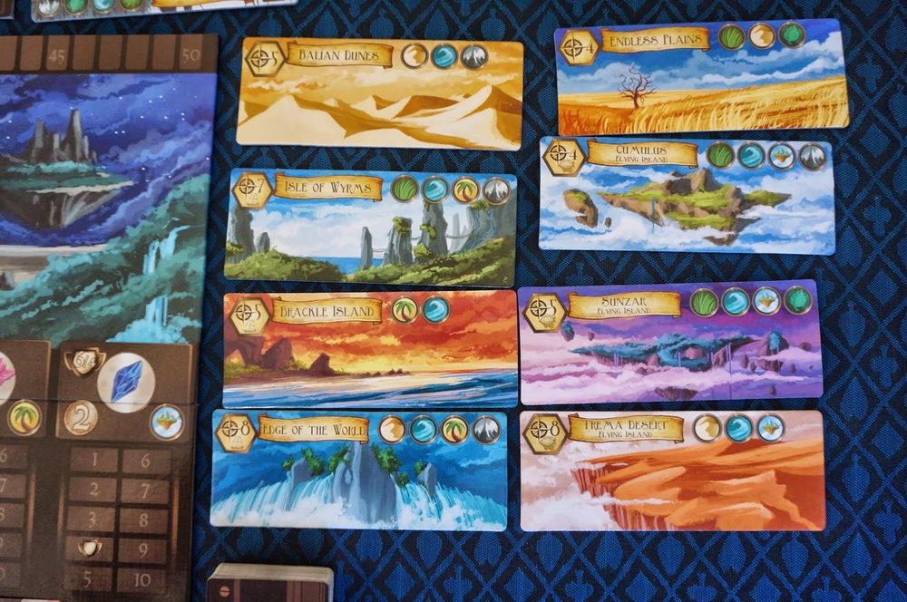 Various lands to explore and found cities in