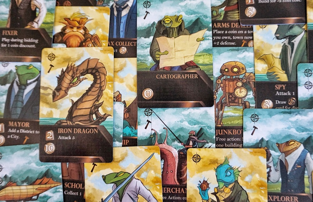 The character cards