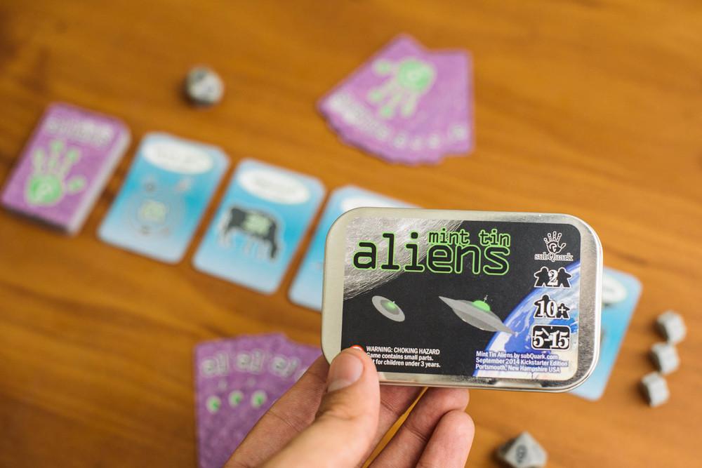 Mint Tin Aliens