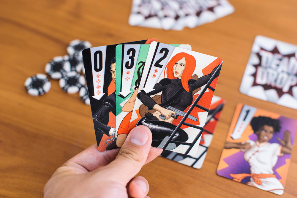 Opening hand for a three player game