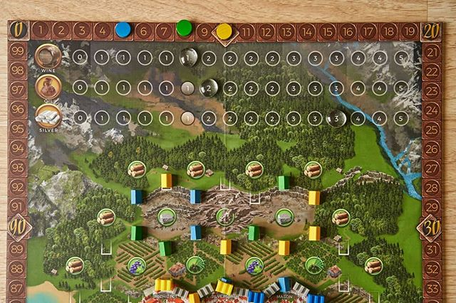 Scoring points in #ragusa #boardgames