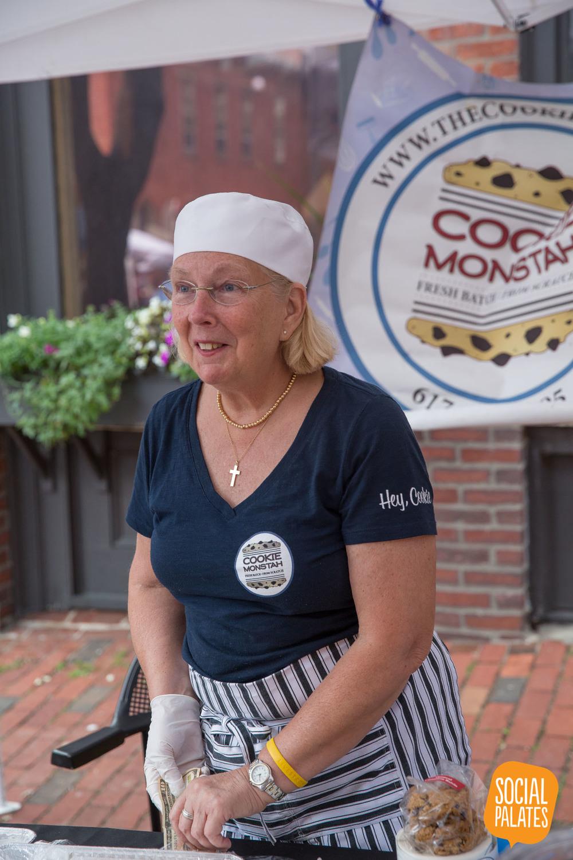 Cookie Monstah is a crowd favorite!