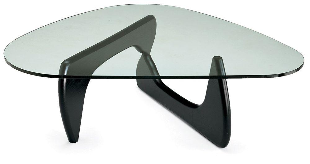 Isamu Noguchi's Glass Coffee Table