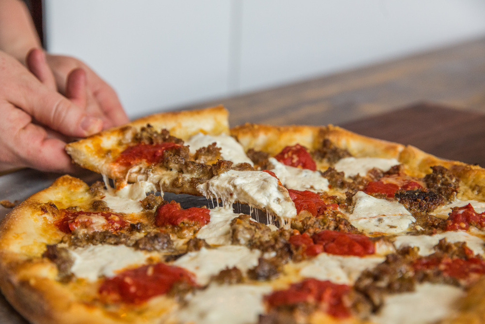 Flying Saucer Pizza - Photo by Creative Salem