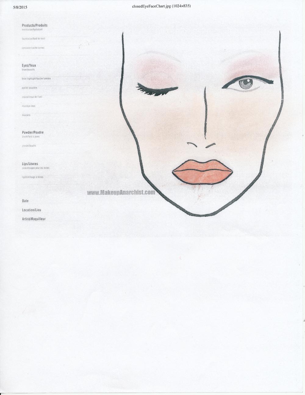 Rhiannon Makeup