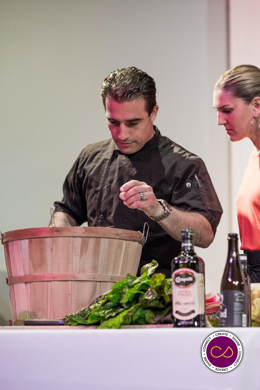 The winner of the 2014 Best Chef competition, Chef Antonio Bettencourt - AMano Italian Kitchen
