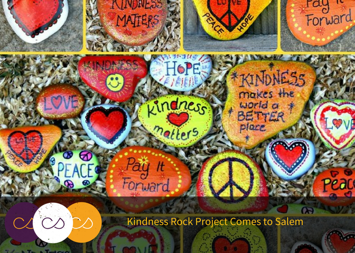 The Kindness Rock Project Creative Salem