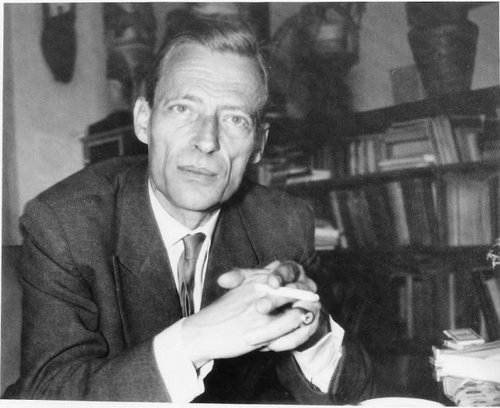 Swiss poet and phenomenologist of consciousness, Jean Gebser (1905–1973).