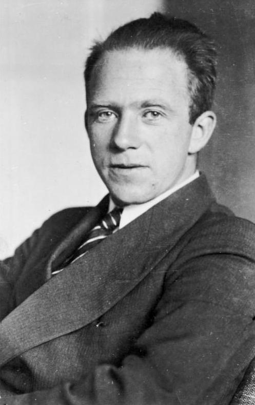 German quantum physicist, Werner Heisenberg (1901–1976).