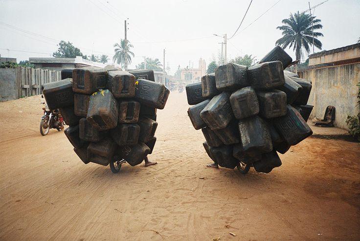 Romuald Hazoumè (Benin), Twin Airbags, 2004.