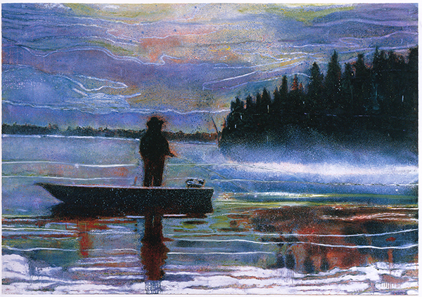 Lunker by Peter Doig