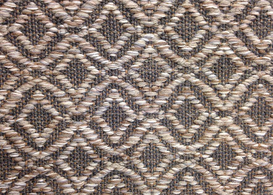 Adele Grey flatwoven rug