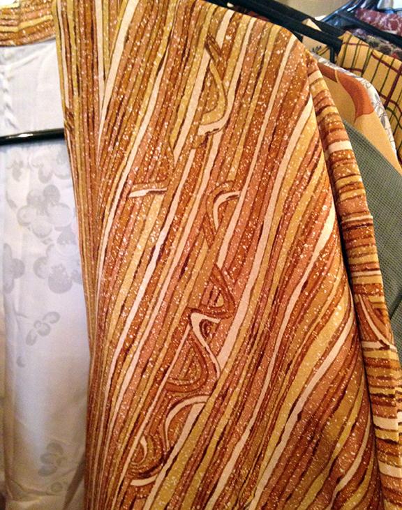 Wavy Print Kimono