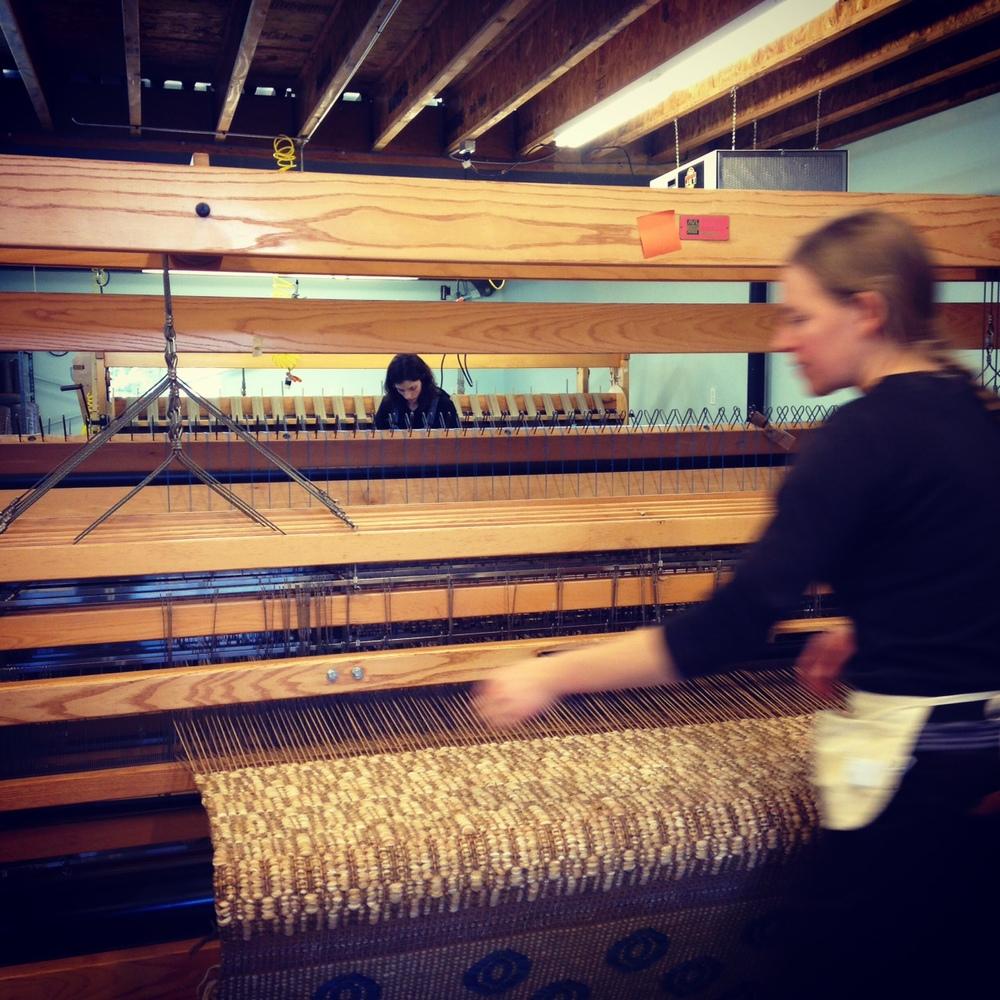 Georgia weaving Matrix Gold