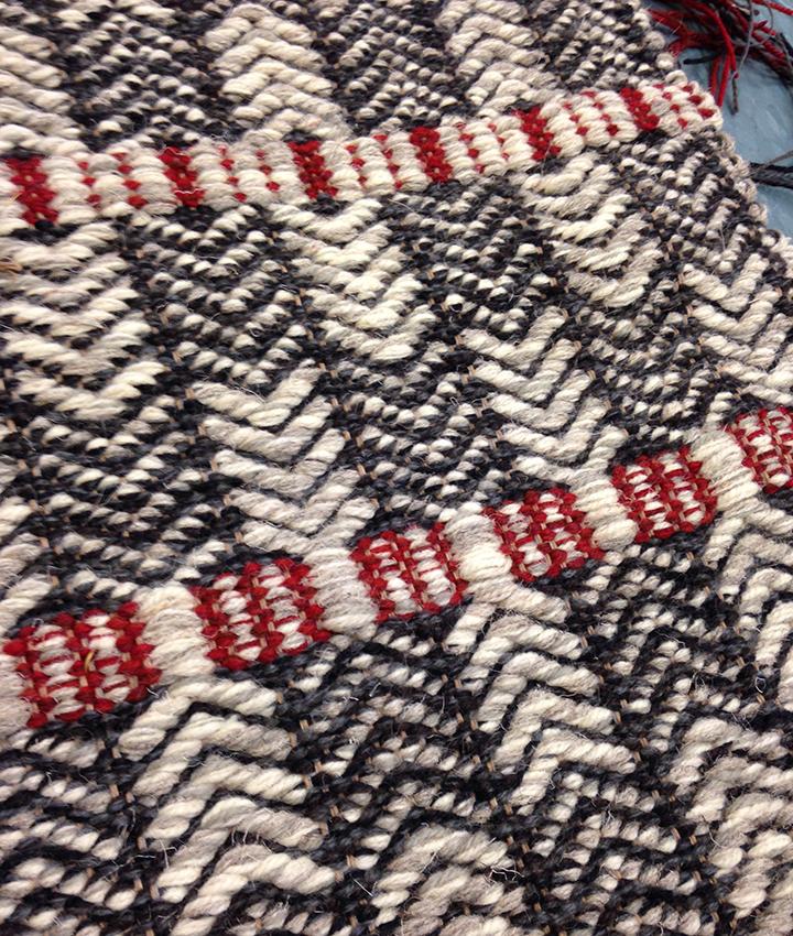 Oslo pattern Flat weave rug