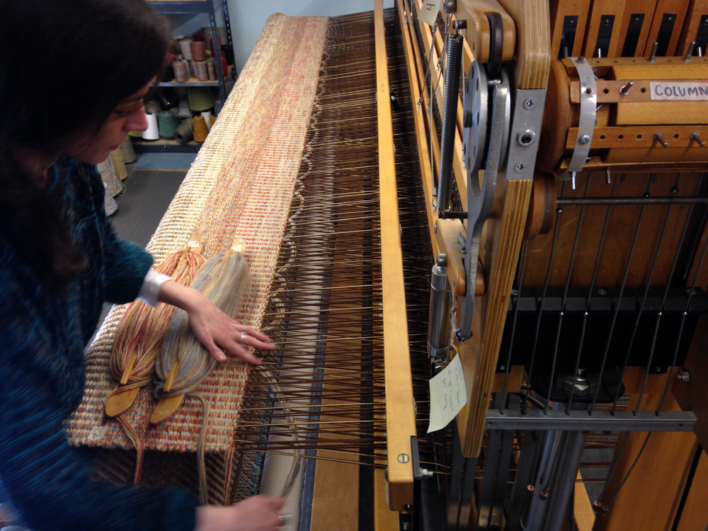 Meg Weaving Columns Sienna