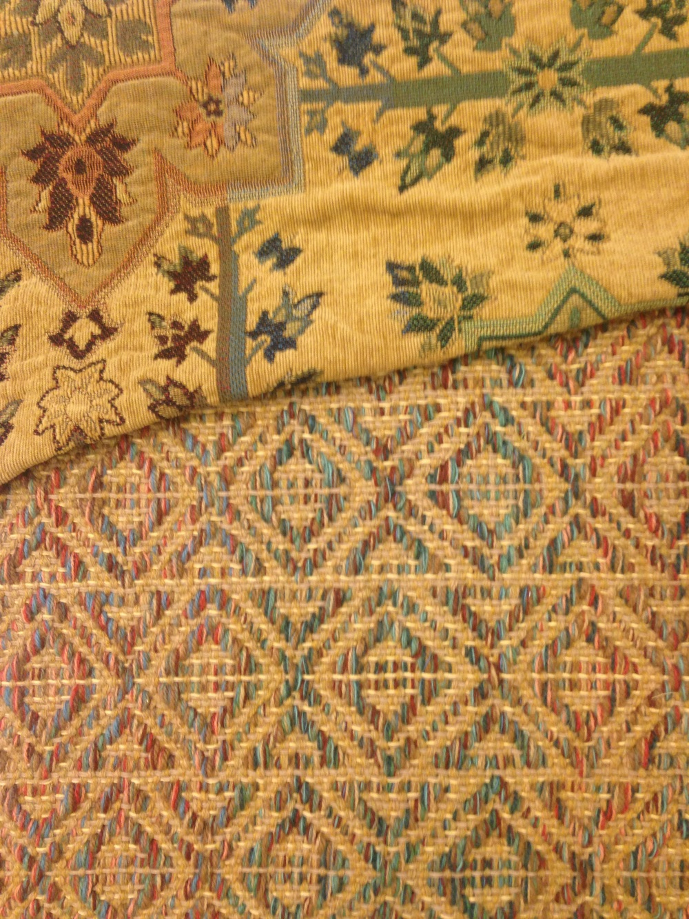 Marcus R flat woven rug.