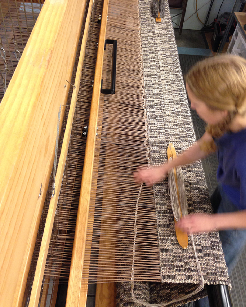 Aurora weaving