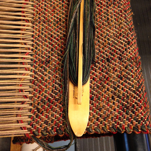 FWT-11 on the loom