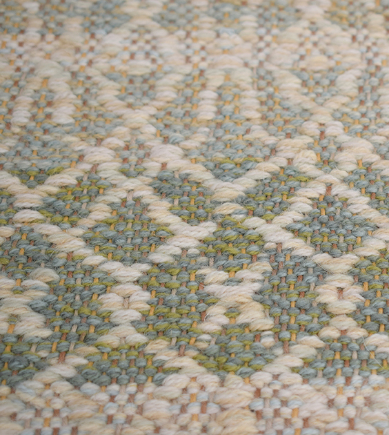 Barrington Celery Handwoven Rug