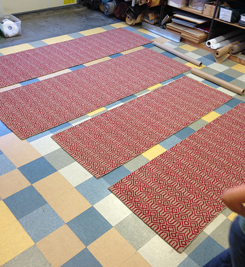 Steeple 2 Red finished runners ready for shipping!