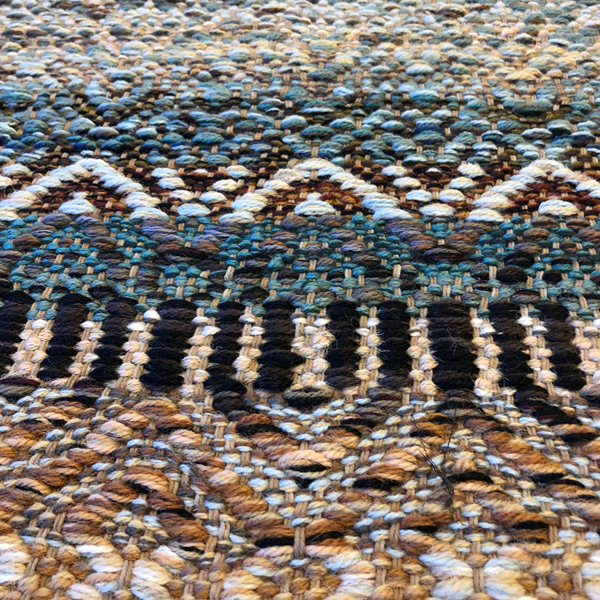 Close up of Patti's Rug