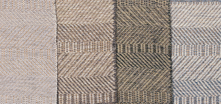 Selection of Twisp Twill 10 samples