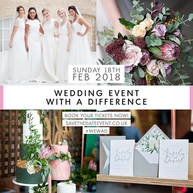 Today's the day! It's Save The Date's Wedding Event With A Difference! The final preps are taking place and doors open at 10.30am until 3pm. Come along and see us and enjoy a fantastic day to get you in the wedding mood! #WEWAD #savethedatemagazine @savethedatemag