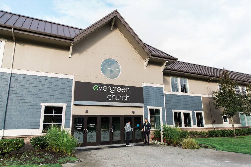 Evergreen Church is located in Bothell, WA, which is close to major companies such as Microsoft, Boeing, and Amazon.