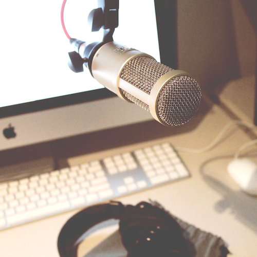 Starting a podcast is simple and doesn't require a ton of gear. You can even  get started  with a set of iPhone earbuds!
