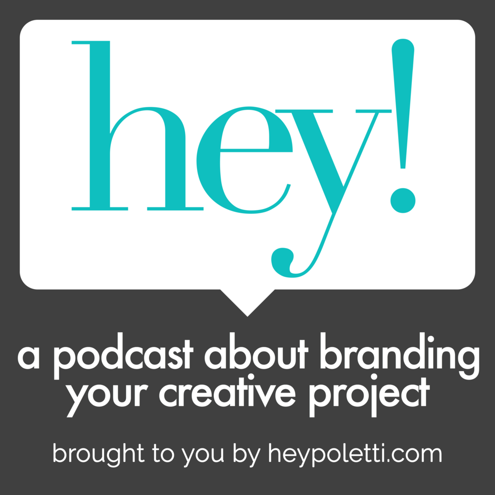 Subscribe to the hey! podcast on iTunes and Google Play.