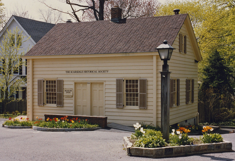 The restored Quaker Meeting House today. Photo courtesy of the Scarsdale Public Library.