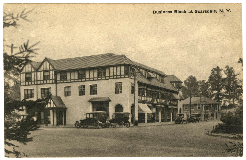 Business Block At Scarsdale, New York