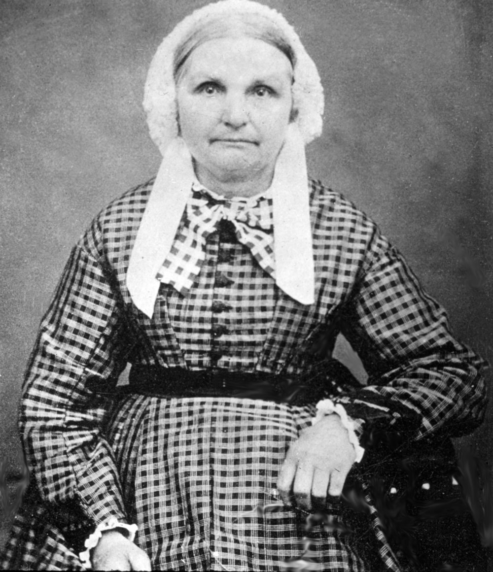Sarah Odell Hyatt, (1807-1886) wife of Caleb, mother of Oliver Hyatt. She was the first generation of Hyatts to live in the house